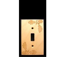 Oak Leaf Single Switch Plate