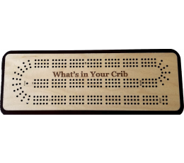What's In Your Crib 3 Track Cribbage Board