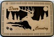Deer Cribbage Board