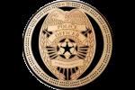 Police Badge Cribbage Board