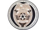 Police Badge Cribbage Board
