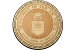 Air Force Military Seal Cribbage Board