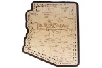 Arizona Map Cribbage Board