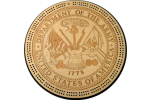 Army Military Seal Cribbage Board