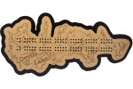 Devils Lake, Benson/Ramsey Counties, ND Cribbage Board