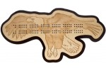 Flying Eagle Cribbage Board