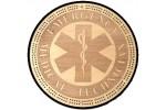EMT Emblem Cribbage Board