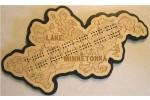 Lake Minnetonka, Hennepin County, MN Cribbage Board