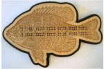 Sun Fish Cribbage Board