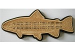 Trout Cribbage Board