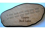 Upper Red Lake, Beltrami County, MN Cribbage Board