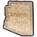 Arizona Map Cribbage Board