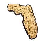 Florida Map Cribbage Board