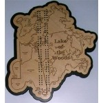 Lake of the Woods, MN Cribbage Board