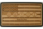 Flag/Military Emblem Cribbage Board